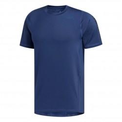 Adidas Alphaskin Graphic Tee Férfi Futó Póló (Kék) FL1525