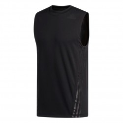Adidas Aeroready 3 Stripes Tee Férfi Trikó (Fekete) FL4317