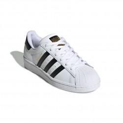 Adidas Originals Superstar J Női Cipő (Fehér-Fekete) FU7712