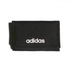 Adidas Linear Logo Wallet Pénztárca (Fekete-Fehér) FL3650