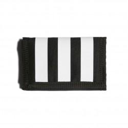 Adidas 3 Stripes Wallet Pénztárca (Fekete-Fehér) FL3654