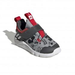 Adidas RapidaFlex Mickey El I Fiú Gyerek Cipő (Szürke-Piros) EF9730