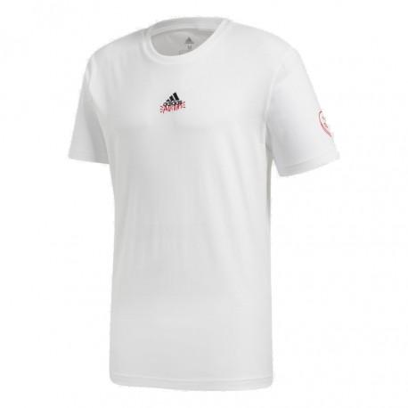 Adidas Doodle 360 Tee Férfi Póló (Fehér-Piros) FN1731