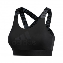 Adidas Dont Rest Branded Bra Női Sportmelltartó (Fekete) FJ6084