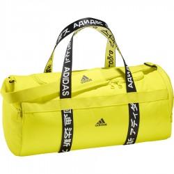 Adidas 4ATHLTS Duffle Bag Sporttáska (Sárga-Fekete) FI7964