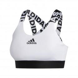 Adidas Dont Rest Branded Bra Női Sportmelltartó (Fehér-Fekete) FJ6085