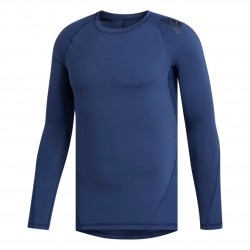 Adidas Alphaskin Sport Long Sleeve Tee Férfi Felső (Kék) FL4576