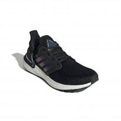 Adidas UltraBOOST 20 Férfi Futó Cipő (Fekete-Kék) EG0692