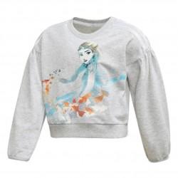 Adidas Disney Frozen Sweatshirt Lány Gyerek Pulóver (Szürke-Színes) FM2871