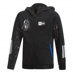 Adidas Disney Star Wars Hoodie Fiú Gyerek Felső (Fekete-Fehér) FM2868
