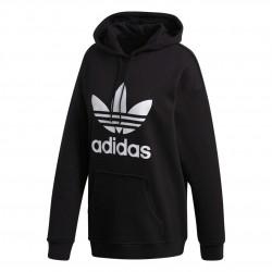 Adidas Originals Adicolor Trefoil Hoodie Női Pulóver (Fehér-Fekete) FM3307
