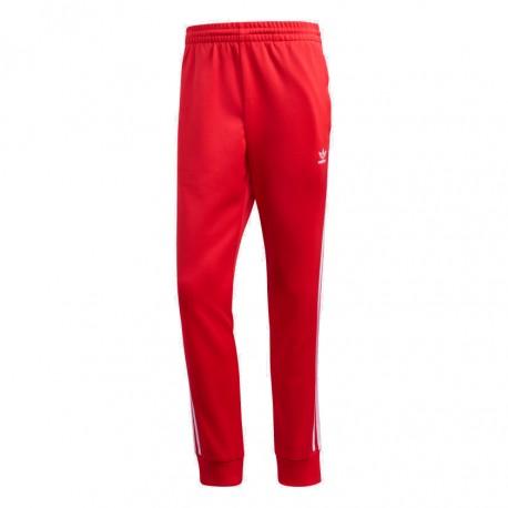 Adidas Originals SST Track Pants Férfi Nadrág (Piros-Fehér) FM3808