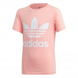 Adidas Originals Trefoil Tee Lány Gyerek Póló (Rózsaszín-Fehér) FM5661