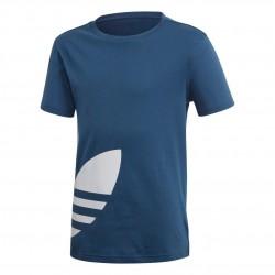 Adidas Originals Big Trefoil Tee Fiú Gyerek Póló (Kék-Fehér) FM5673