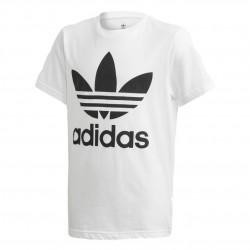 Adidas Originals Trefoil Tee Uniszex Gyerek Póló (Fehér-Fekete) DV2904