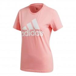 Adidas MH Badge Of Sport Tee Női Póló (Rózsaszín-Fehér) FQ3239