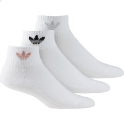 Adidas Originals Mid Cut Crew Socks 3P 3 Páras Zokni (Fehér-Fekete) FM0713