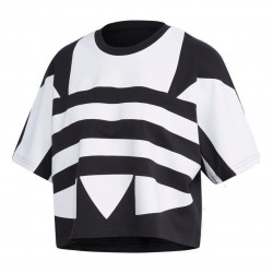 Adidas Originals Large Logo Tee Női Póló (Fekete-Fehér) FM2562