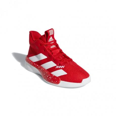 Adidas Pro Next 2019 K Gyerek Kosárlabda Cipő (Piros Fehér) EF9811