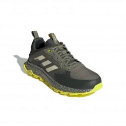 Adidas Response Trail Férfi Terep Futó Cipő (Zöld) EG3458