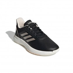 Adidas Courtsmash Női Tenisz Cipő (Fekete-Fehér) EG4204