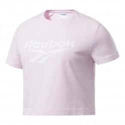 Reebok Classics Vector Crop Top Női Póló (Halványrózsaszín) FJ3294