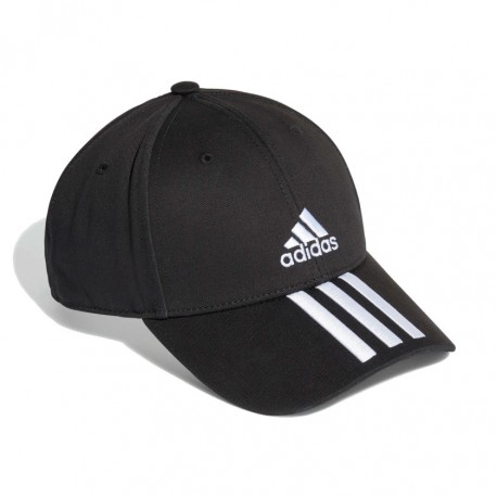Adidas Baseball 3 Stripes Twill Baseball Sapka (Fekete-Fehér) FK0894