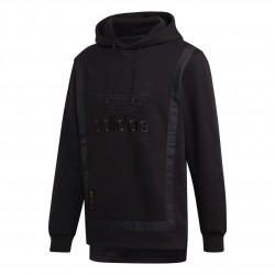 Adidas Originals Warm Up Hoodie Férfi Pulóver (Fekete) GK0646