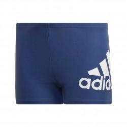 Adidas Badge Of Sport Swim Boxers Fiú Gyerek Úszó Boxer (Kék-Fehér) FL8728