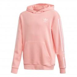 Adidas Originals Lock Up Hoodie Lány Gyerek Pulóver (Rózsaszín-Fehér) FM5688