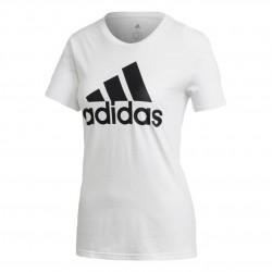 Adidas MH Badge Of Sport Tee Női Póló (Fehér-Fekete) FQ3238
