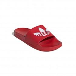 Adidas Originals Adilette Lite Uniszex Papucs (Piros-Fehér) FU8296