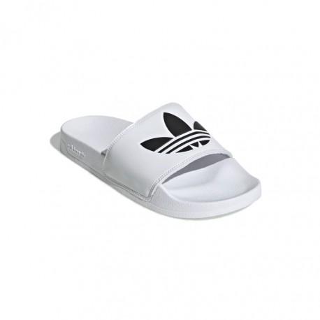 Adidas Originals Adilette Lite Uniszex Papucs (Fehér-Fekete) FU8297