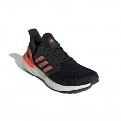Adidas UltraBoost 20 W Női Futó Cipő (Fekete-Narancs) EG0717