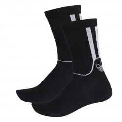 Adidas Originals Sport Crew Socks 2PP 2 Páras Zokni (Fekete-Fehér) FM0714