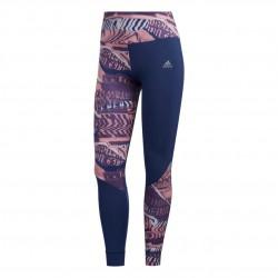 Adidas Own The Run Tights Női Futó Nadrág (Kék-Rózsaszín) FL7260