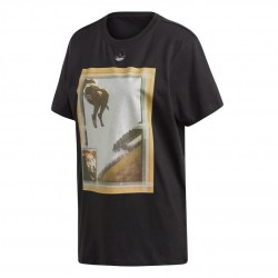 Adidas Originals Graphic Tee Női Póló (Fekete) FM4339