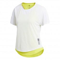 Adidas Adapt To Chaos Tee Női Póló (Fehér-Sárga) FN5984