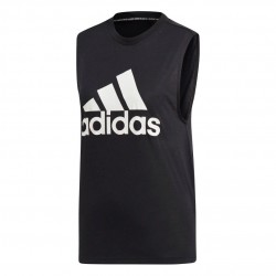 Adidas MH Badge Of Sport Tank Top Női Trikó (Fekete-Fehér) DU0003