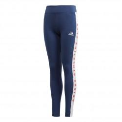 Adidas JG Athletics Bold Tights Lány Gyerek Nadrág (Kék-Fehér) FL1781