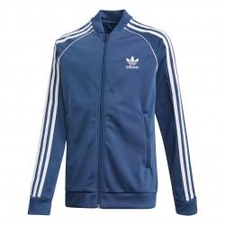 Adidas Originals SST Track Jacket Fiú Gyerek Felső (Kék-Fehér) FM5668