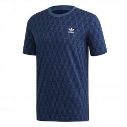Adidas Originals Mono AOP Tee Férfi Póló (Kék) FM3422