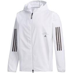 Adidas M Athletics CLO Jacket Férfi Kabát (Fehér-Fekete) FM5399