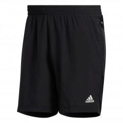 Adidas Run It 3 Stripes PB Shorts Férfi Futó Short (Fekete-Fehér) FP7541