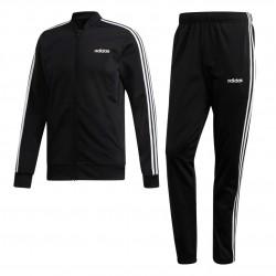 Adidas 3 Stripes Track Suit Férfi Melegítő Együttes (Fekete-Fehér) DV2448