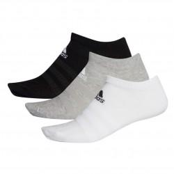 Adidas Low Cut Socks 3PP 3 Páras Zokni (Fekete-Szürke-Fehér) DZ9400