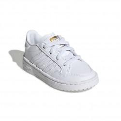Adidas Originals Team Court EL I Uniszex Gyerek Cipő (Fehér) EF6827