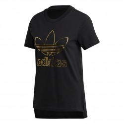 Adidas Originals Tee Női Póló (Fekete-Arany) GK1725