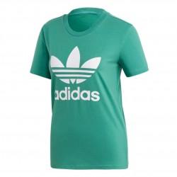 Adidas Originals Trefoil Tee Női Póló (Zöld-Fehér) FM3300