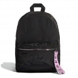 Adidas Originals Nylon W BP Női Hátizsák (Fekete-Rózsaszín) FL9619
